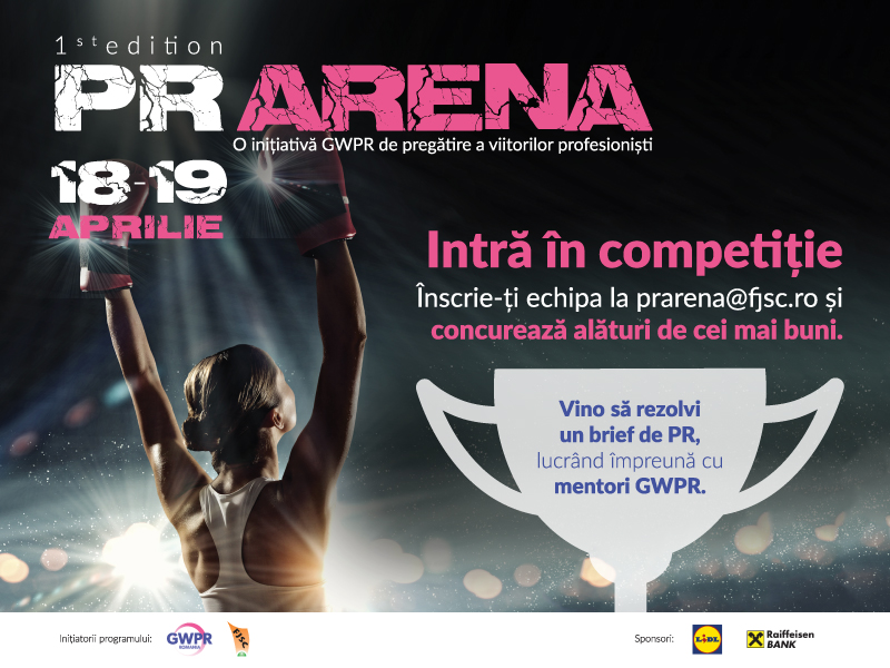 Global Women in PR Romania and Journalism and Communication Sciences Faculty to launch PR Arena